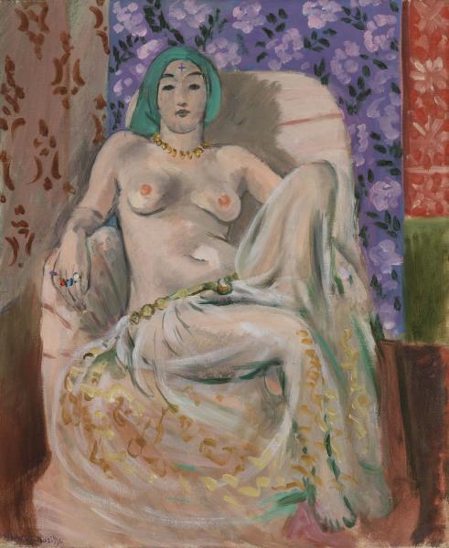 Moorish Woman (Bended Knee)